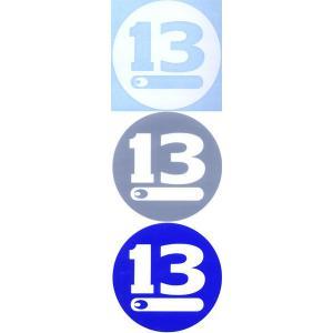 ●ブリーデン BREADEN デカール (13CIRCLE 90) 【メール便配送可】 【まとめ送料割】 bass-infinity