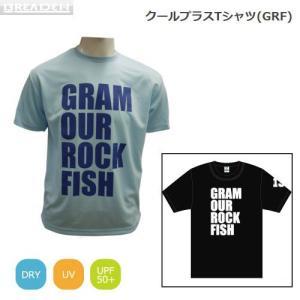 ●ブリーデン クールプラスTシャツ GRF ブラック 【メール便配送可】 【まとめ送料割】|bass-infinity
