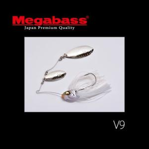 ●メガバス V9 3/8oz ダブルウィロー 【メール便配送可】 【まとめ送料割】|bass-infinity
