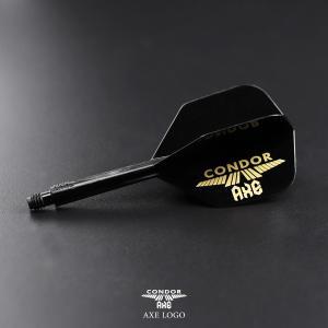 ダーツ フライト CONDOR AXE  -コンドル アックス- ロゴ ブラック bat-store