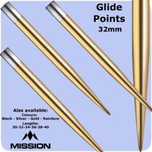 Mission グライド ポイント ゴールド Glide Points Gold|bat-store