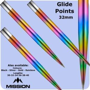 Mission グライド ポイント レインボー Glide Points Rainbow|bat-store