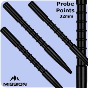 ミッション プローブ V1 ポイント ブラック Mission Probe V1 darts point Black|bat-store