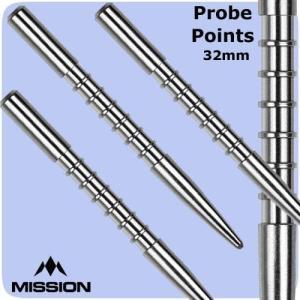 ミッション プローブ V1 ポイント シルバー Mission Probe V1 darts point Silver|bat-store
