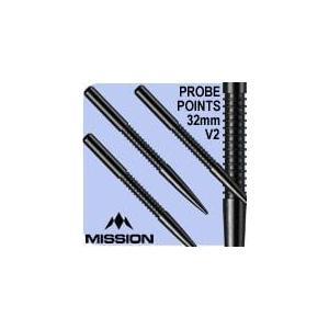 ミッション プローブ V2 ポイント ブラック Mission Probe V2 darts point Black|bat-store