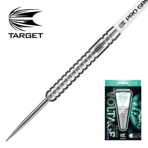 ダーツ バレル TARGET VOLTAGE STEEL (ボルテージ ロブ・クロスモデル 90% スティール )|bat-store