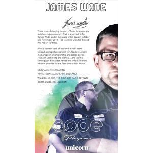 【送料無料】 ダーツ バレル unicorn JAMES WADE CODE STEEL|bat-store