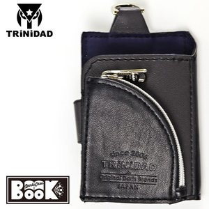 TRINIDAD Darts Case BOOK ブラック×グレー(トリニダード ダーツケース ブック)|batdarts