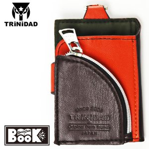 TRINIDAD Darts Case BOOK ブラウン×オレンジ(トリニダード ダーツケース ブック)|batdarts