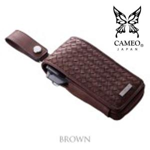 CAMEO GARMENT INTRECCIATO BROWN(カメオダーツケース ガーメント イントレチャートブラウン)【garment】|batdarts