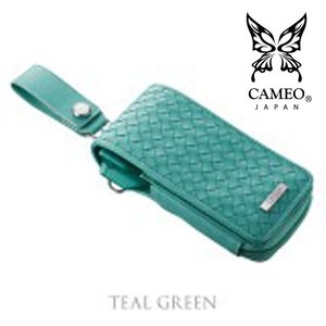 CAMEO GARMENT INTRECCIATO TEALGREEN(カメオダーツケース ガーメント イントレチャートグリーン)【garment】|batdarts