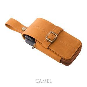 CAMEO NUBUK CAMEL(カメオ ダーツケース ヌバック)【nubuk】|batdarts