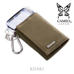 CAMEO WORKS3 KHAKI(カメオ ダーツケース ワークス カーキ)【works】|batdarts