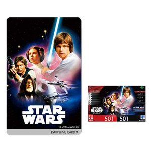 STAR WARS(スターウォーズ) Special DARTSLIVE CARD(スペシャルダーツライブカード) / NEW HOPE|batdarts