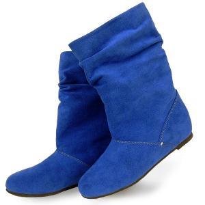 ブーツ シークレットヒール クロールバリエ BLUE No.378254|bath