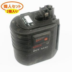★安い★2個売り★【2 607 335 215】ボッシュ用 24Vバッテリ- [職人セット] battery-ichiba