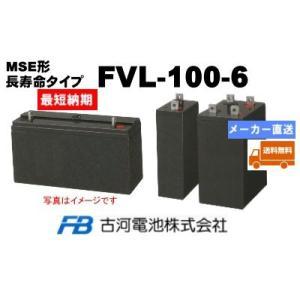 FVL-100-6【古河電池】《送料無料》制御弁式据置鉛蓄電...