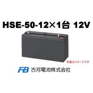 HSE50-12【古河電池】《送料無料》制御弁式据置鉛蓄電池...