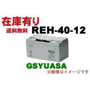 短納期《8/27入荷予約受付中》REH-40-12【GSユアサ】《送料無料》REH40-12制御弁式...