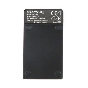 EN-EL14a D5600 D3400 ニコン 互換バッテリー2個&USB充電器セット D3100/ D3200/ D5100/ D5200/D5300/Df /CoolPix P7000/ P7100/ P7700|batteryginnkouhkr|03