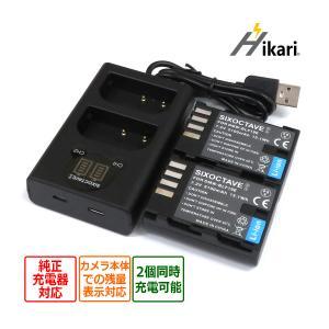 パナソニック DMW-BLF19 完全互換バッテリー2個とデュアルバッテリーUSBチャージャー DMW-BTC10  DMC-GH3H/ DMC-GH4 DC-GH5-K batteryginnkouhkr