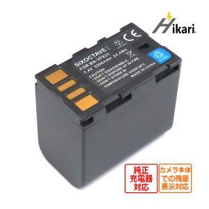 Victor エブリオ・HD互換バッテリー  BN-VF823/BN-VF815/BN-VF808 大容量3300mah 日本ビクターVICTOR(JVC)デジタルビデオカメラGZ-HM1、GZ-HM400|batteryginnkouhkr