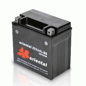 バイク用バッテリー ZTX14L-BS・液入・初期補充電済 (YTX14L-BS SVR14に互換) オリエンタル バイクバッテリー|batterystorecom