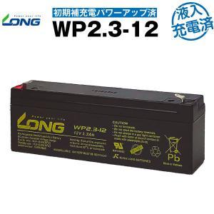 業務、産業用 WP2.3-12・初期補充電済 NP2.3-12互換 新品 LONG 長寿命・保証書付...