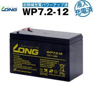 UPS(無停電電源装置) WP7.2-12・初期補充電済(産業用鉛蓄電池) 新品 LONG 長寿命・保証書付き Smart-UPS 700 など対応 サイクルバッテリー batterystorecom