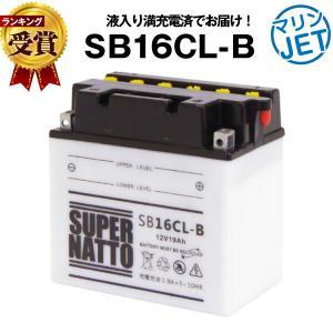 ジェットスキー バッテリー YB16CL-B互換 液入充電済 SB16CL-B 開放型 総販売数100万個突破 FB16CL-B OTX16CL-Bに互換 スーパーナット マリンスポーツ用品|batterystorecom