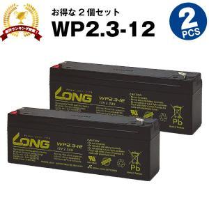 業務、産業用 WP2.3-12【お得!2個セット】 NP2.3-12互換 新品 LONG 長寿命・保...