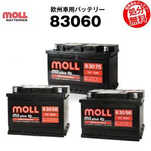 自動車用バッテリー 83060 (L2 20-72 プジョー 5600GVに互換) moll(モル) 長寿命・保証書付き 自動車バッテリー|batterystorecom