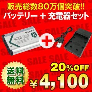 デジカメ用バッテリー お得な2点セット バッテリー+USB充電器(互換品) SONY NP-BX1 ソニー純正バッテリー 正規店購入品 サイバーショット、アクションカム|batterystorecom