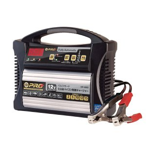 オメガプロ OP-0002 自動車用 12V 全自動バッテリー充電器 サルフェーション除去 batterystorecom