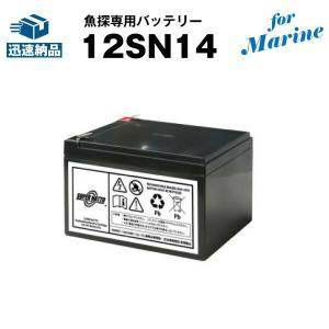 その他 マリンスポーツ用品 12SN14 for Marine 新品 スーパーナット 保証書付き ローランス エリート4(-4X)等に対応 魚探専用バッテリー|batterystorecom