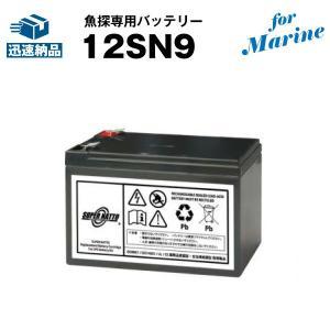魚群探知機 12SN9 for Marine 新品 スーパーナット 保証書付き HONDEX(ホンデックス)BS06、BS07など対応 魚探専用バッテリー|batterystorecom