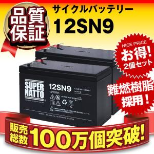 UPS(無停電電源装置) 12SN9 お得 2個セット 純正品と完全互換 安心の動作確認済み製品 U...