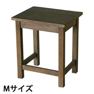 アンティーク調 サイドテーブル 花台 001-M bauhaus1