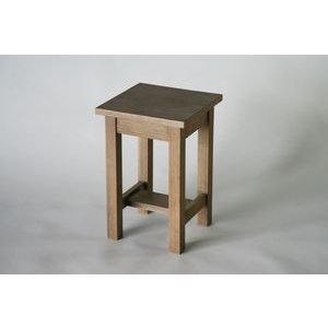 アンティーク調 サイドテーブル 花台 001-S bauhaus1