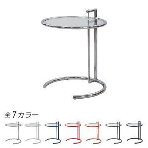 ◇アイリーン◇ ■アイリーングレイの代表作!サイドテーブルは5段階の高さ調節可能です。 ■ソファに座...