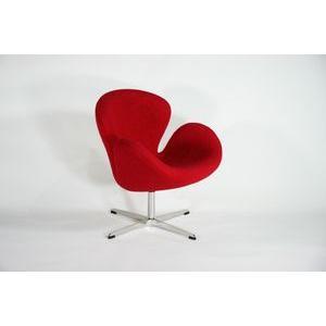 スワンチェア Swan Chair RED レッド bauhaus1