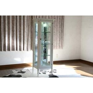 ホワイトロココ コレクションボード 飾り棚 完成品 6117 ホワイト bauhaus1