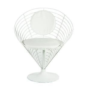 ワイヤーコーンチェア   ≪材質≫ PU、ワイヤー  ●ポップなデザインで、可愛らしいChairです...