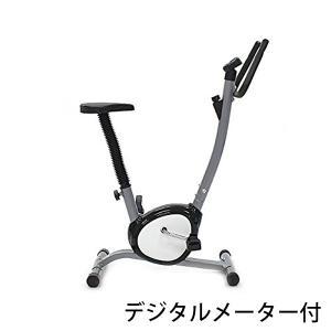 フィットネスバイク 黒 ブラック ダイエット バイク 運動 有酸素運動 エクササイズ 健康器具 効果的 コンパクト トレーニング 耐荷重約100kg クロスバイク 130bk