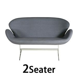 スワンチェア (Swan Chair) GREY 2P ラブソファ|bauhaus1