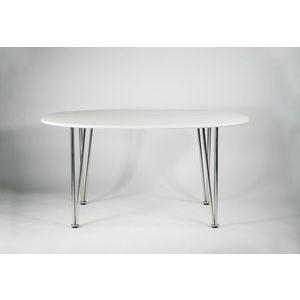 北欧デザイナーズ スーパー楕円テーブル ホワイト|bauhaus1