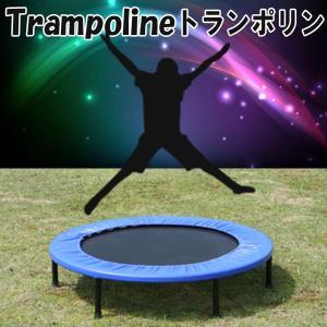 小型トランポリン 直径 102cm ミニトランポリン トランポリン ダイエット 美脚 筋力 トレーニング エクササイズ フィットネス メタボ解消
