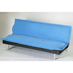 ソファベッド ソファベット ソファ リクライニング ブルー 005|bauhaus1