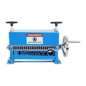 ワイヤーストリッパー ケーブルストリッパー ケーブル皮むき機 被覆剥き機 剥線機 電線皮むき機 皮むき機 1.5mm〜35mm ブルー|bauhaus1