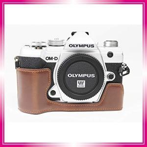 対応 Olympus オリンパス PEN OM-D E-M5 Mark III カメラ バッグ カメラ ケース Koowl手作りトップクラスのPUレザーカメの商品画像|ナビ
